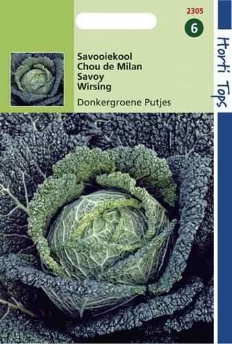 2305 HT Savooiekool Donkergroene Putjes 0,5 gram