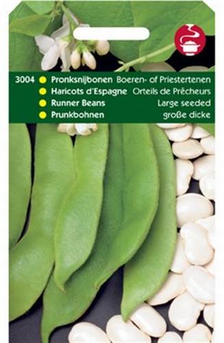 3004 Pronksnijbonen Boeren- of Priestertenen 100 gram