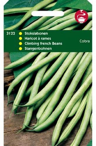 3122 Stokslabonen Cobra 100 gram