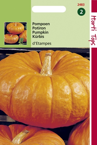2483 HT Pompoenen Rode van Etampes 3 gram