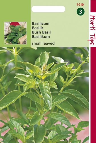 1010 HT Basilicum Fijnbladig 1,5 gram