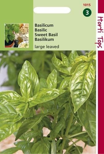 1015 HT Basilicum Grootbladig 1,5 gram