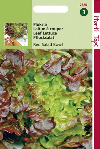 2680 HT Pluksla  Rode Eikenblad 2 gram