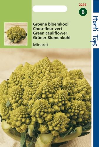 2229 Chou-fleur vert Minaret  30 graines