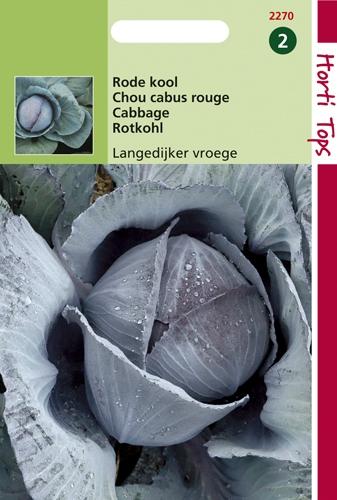 2270 HT Chou cabus rouge hâtif de Langedijk  2 gramme