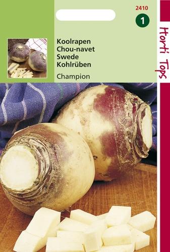 2410 HT Koolraap Champion, Engelse Gele Roodkop 5 gram