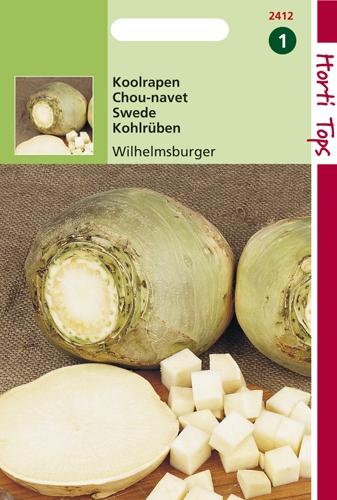 2412 HT Chou-navet jaune à collet vert  5 gramme