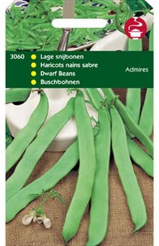 3060 HT Haricots nains sabre Admires  100 grammes