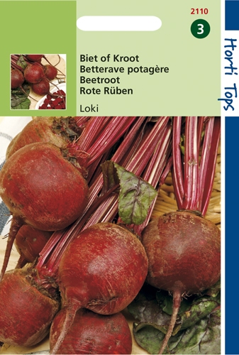 2110 Betterave potagère Globe 5 - Loki   5 gramme