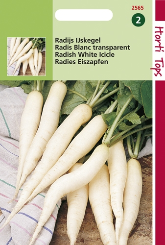 2565 HT Radis Blanc transparent  10 gramme