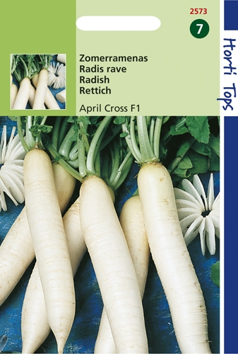2573 HT Radis rave April Cross F1  1,75 gramme