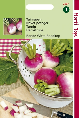 2597 HT Tuinrapen Ronde Witte Roodkop 10 gram