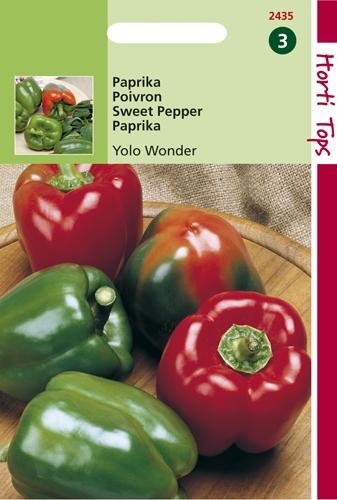 2435 HT Paprika Yolo Wonder 1,5 gram