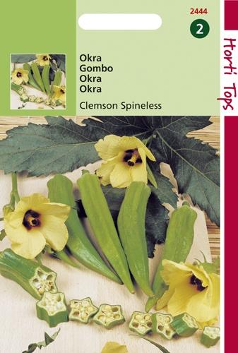 2444 HT Okra Clemson Spineless 3 gram