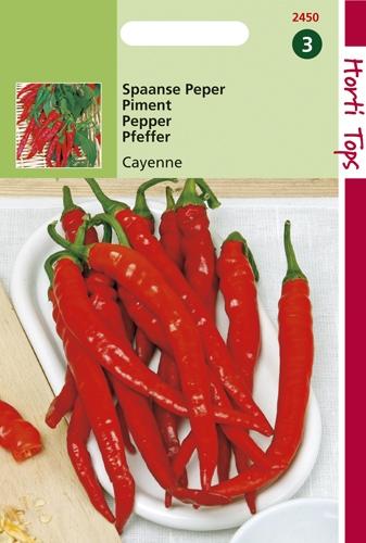 2450 HT Peper Cayenna (Spaanse) 1,5 gram