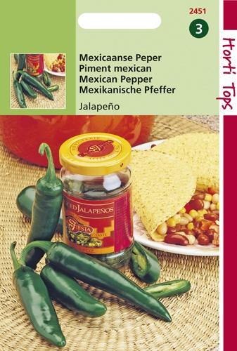 2451 HT Peper Jalapeño (Mexicaanse) 2 gram