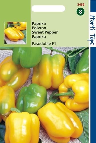 2459 HT Paprika Pasodoble F1 (Geel) 8 zaden