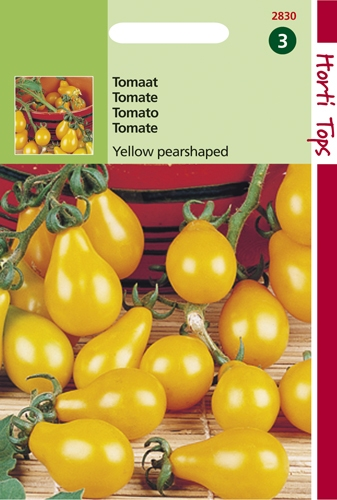 2830 HT Tomate Yellow pearshaped  0,5 gramme