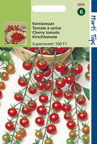 2834 HT Kerstomaten Super Sweet 100 F1 0,2 gram
