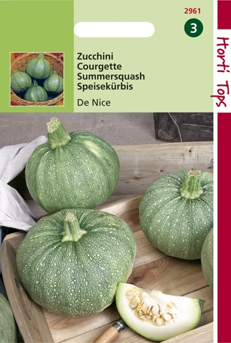 2961 HT Courgette De Nice 2 gram