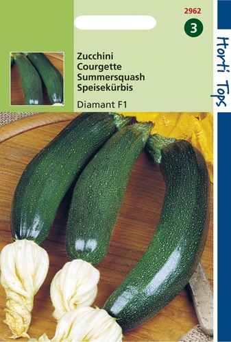 2962 HT Courgette Diamant F1  2 gramme