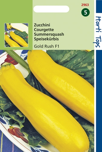 2963 HT Courgette Gold Rush F1  2 gramme
