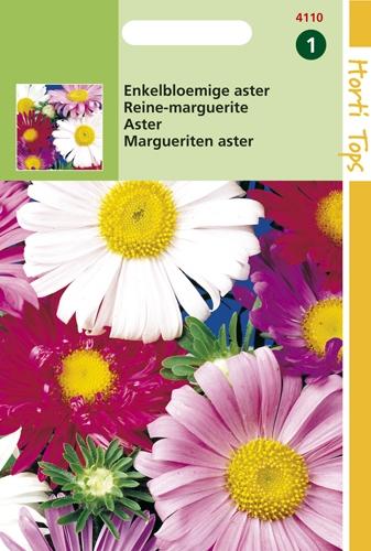 4110 HT Reine-marguerite variée  1 gramme
