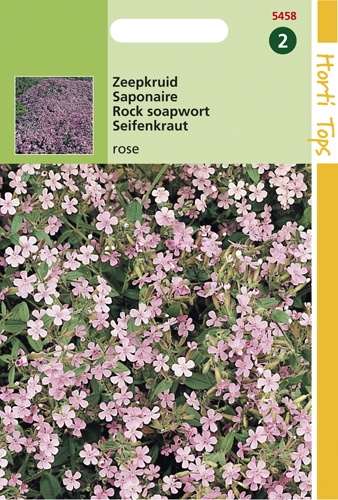 5458 HT Zeepkruid rose 0,5 gram