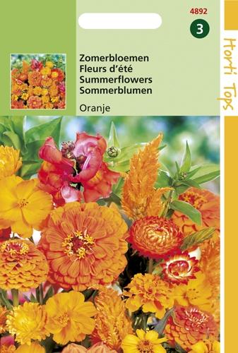 4892 HT Fleurs d'été Orange  2 gramme