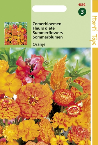 4892 HT Zomerbloemen Oranje Tinten 2 gram