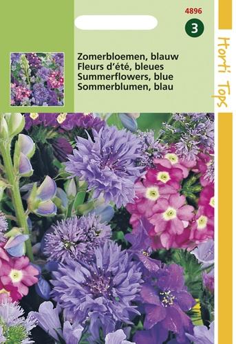 4896 HT Zomerbloemen Blauw 2 gram