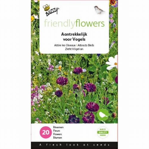 Friendly Flowers Mix Vogels 15m²