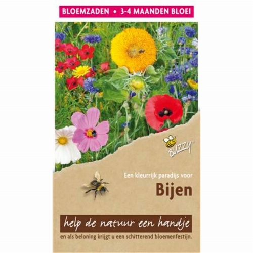 Flower Mix Bijen hoog 15m²