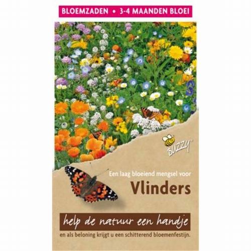 Flower Mix Vlinders Laag 15m²