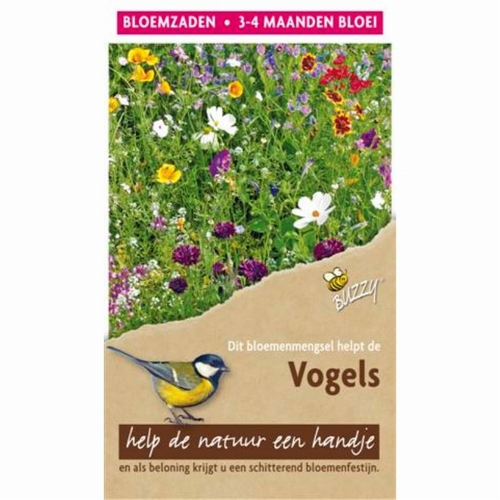 Flower Mix Vogels 15m²