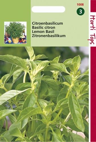 1008 HT Citroenbasilicum  1,5 gram